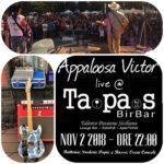Nov 2 Live @ TAPAS Bir Bar - Catania Ore 22:00